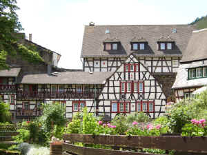 Bacharach timbered houses