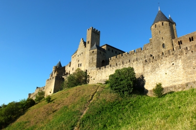 Carcassone walled city