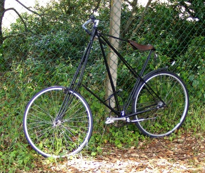 St Gildas tall bicycle