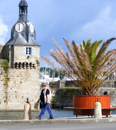 Concarneau old town