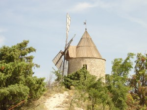 windmill at Montfuron
