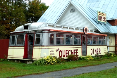 Traditional Quechee diner