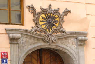 Prague - doorway detail