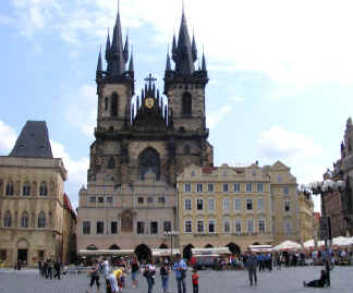 Prague Old Town square