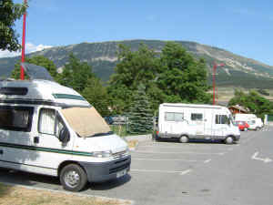 aire at St Andr�-les-Alpes