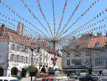 Garlands at Arbois