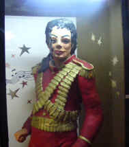 Michael Jackson in marzipan -  full sized